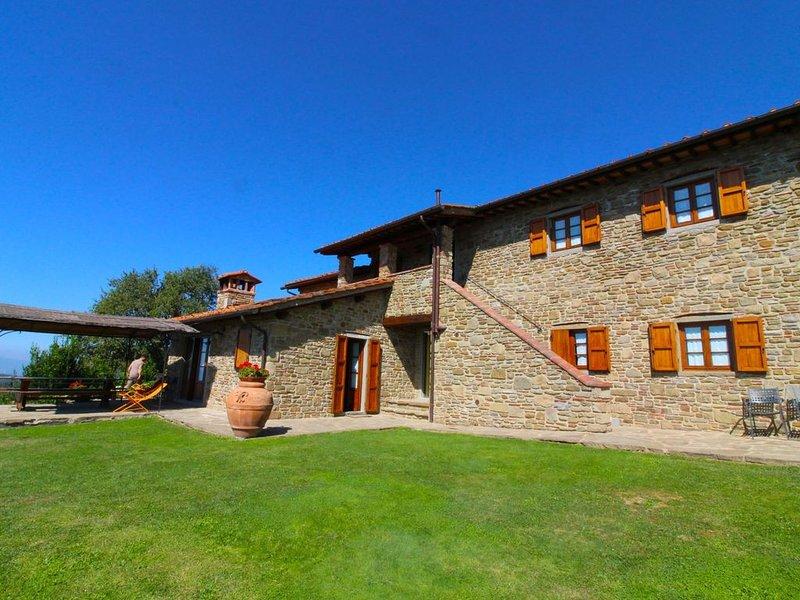Appartamento a piano terra sito in agriturismo nella vallata del Valdarno. Pisci, location de vacances à San Giustino Valdarno