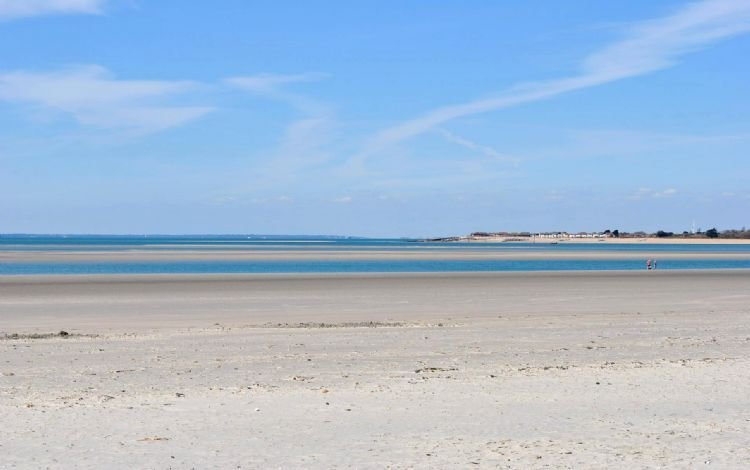 The beach at nearby West Wittering