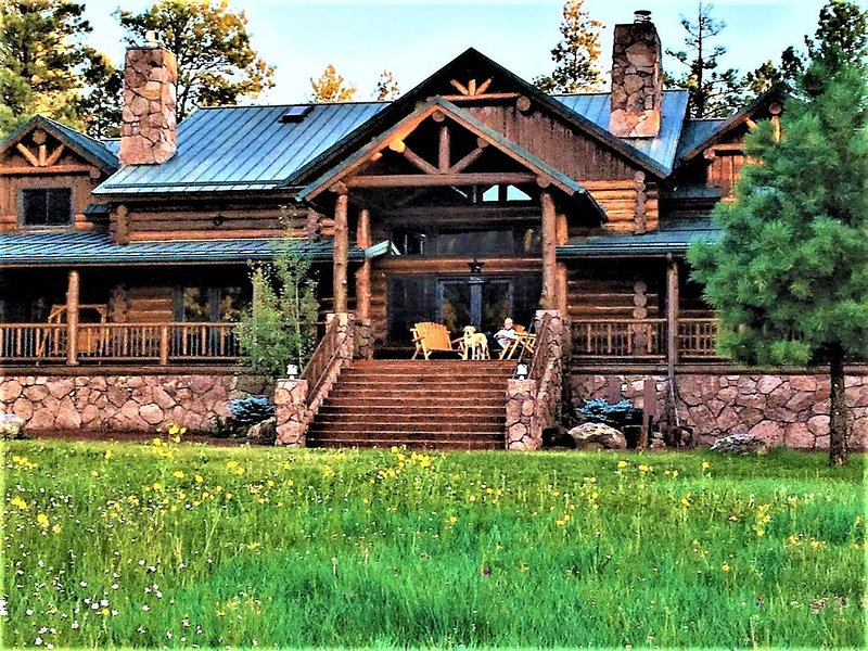 Luxurious Cabin within exclusive Hidden Meadow Ranch, aluguéis de temporada em Greer