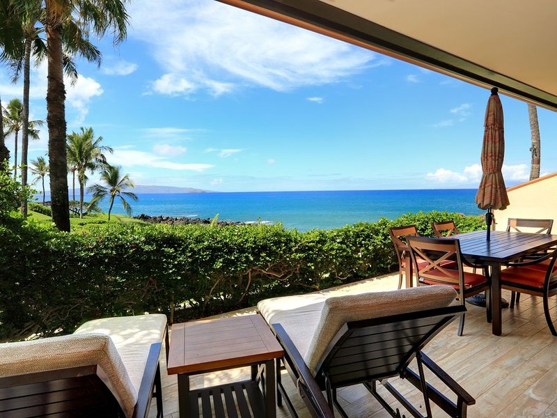Beautiful Ocean Front Ground Floor Unit - Starting * $540/nt - Makena Surf G-101, aluguéis de temporada em Makena