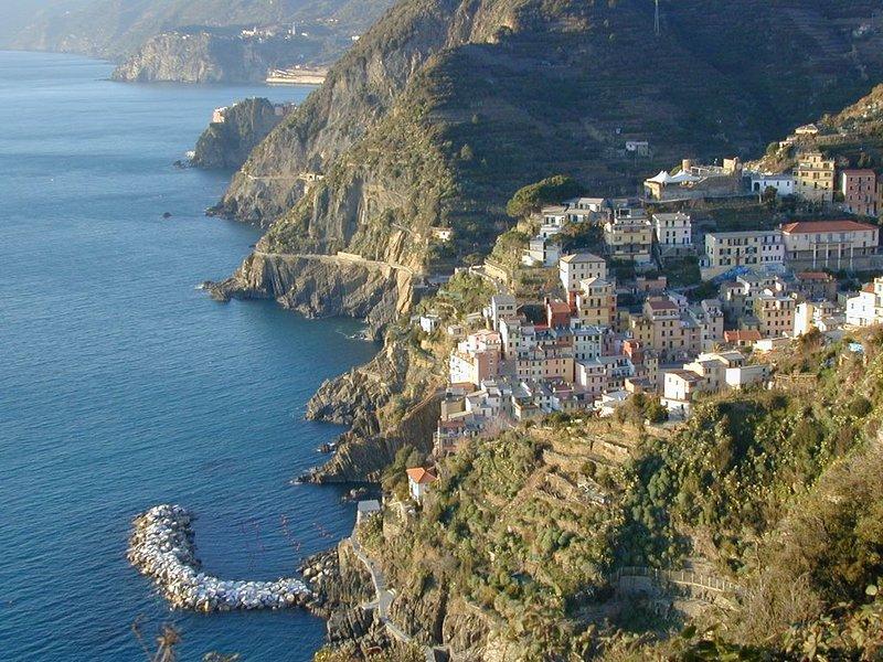 A Riomaggiore Cinque Terre con vista mare totale CITR 11024 CAV0069, vacation rental in Riomaggiore