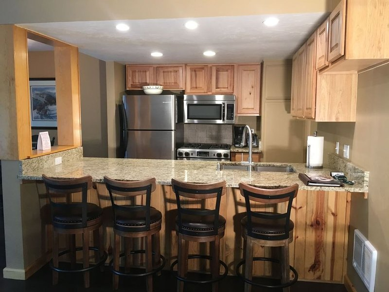 #113-Hot Tub, Pool, Spa, Common Game Room, 10 minute Walk to Town & Lifts, Ferienwohnung in Ketchum