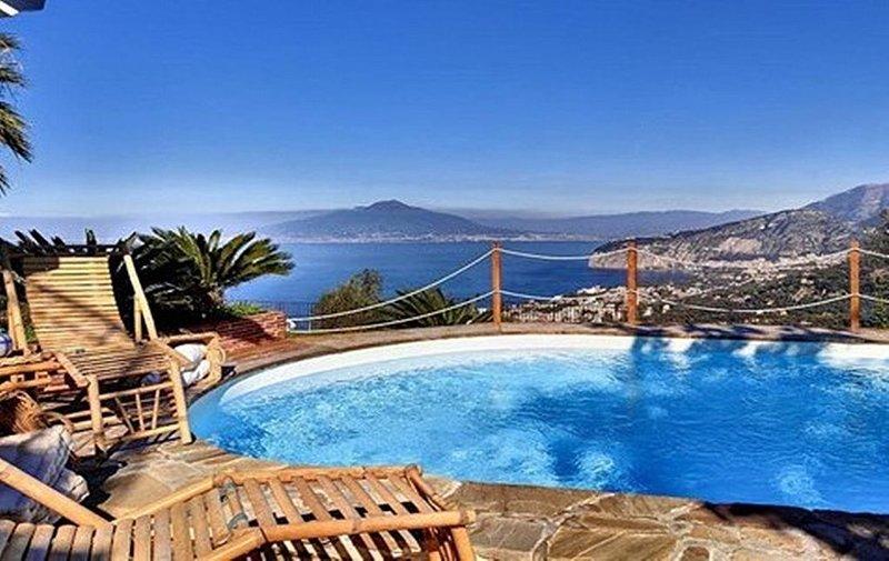 Villa Baiadera, rimborso completo con voucher*: Una luminosa e solare villa su t, alquiler vacacional en Priora