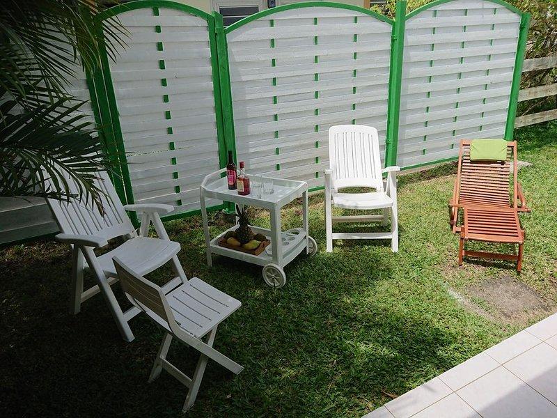 Sainte Anne: soleil du sud - maison mitoyenne dans résidence, vacation rental in Sainte-Anne