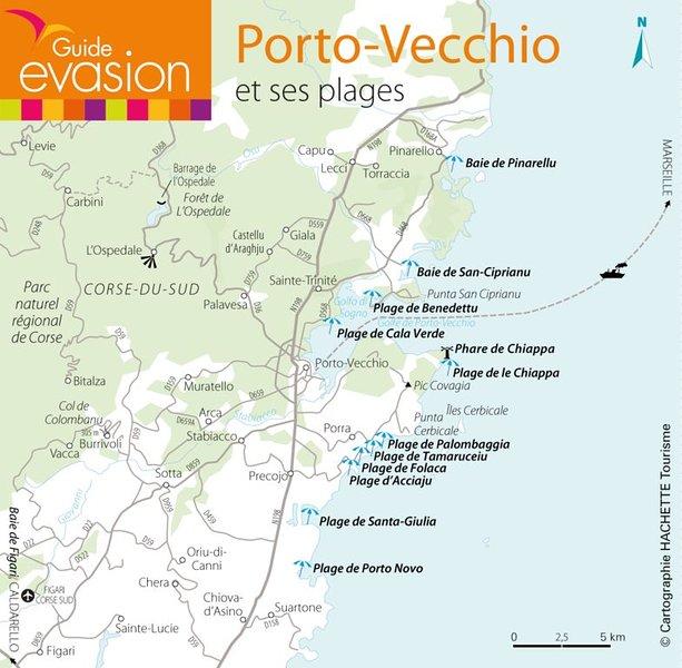 All beaches around Porto Vecchio