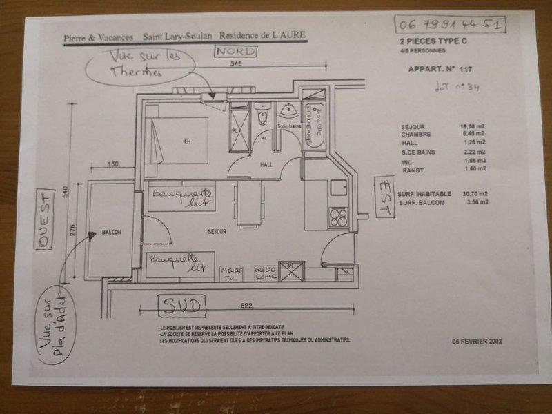 Lägenhet plan