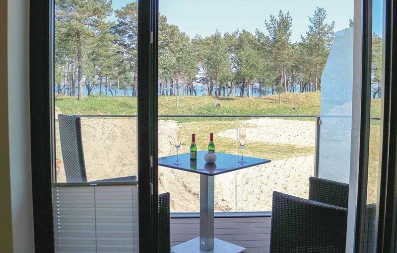 1 bedroom accommodation in Prora/Rügen, location de vacances à Lietzow