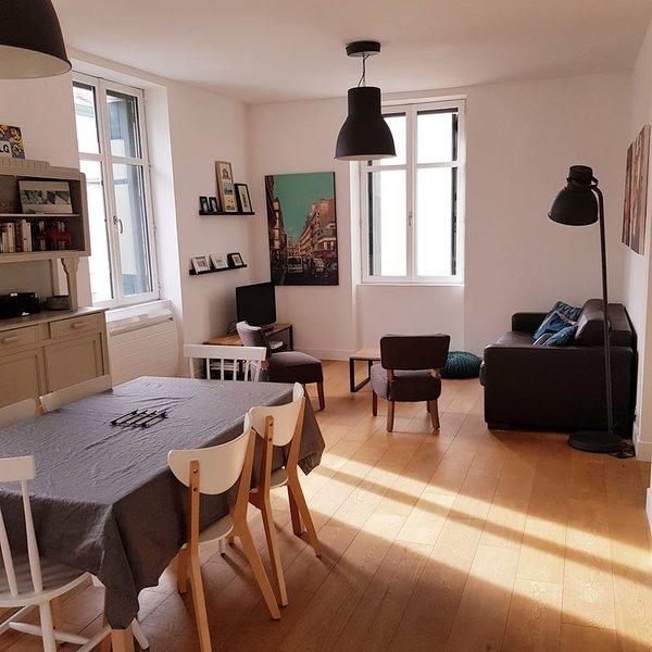 Appartement refait à neuf, lumineux, centre Saint Jean de Luz, location de vacances à Saint-Jean-de-Luz