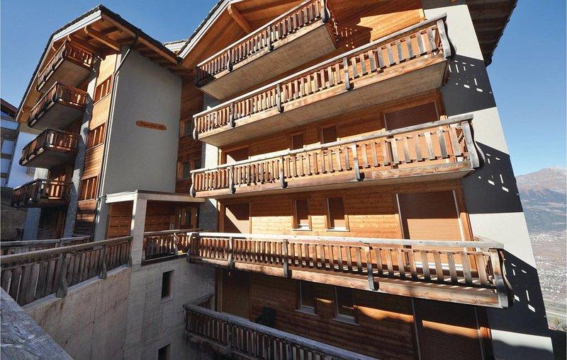 2 bedroom accommodation in Veysonnaz, location de vacances à Veysonnaz