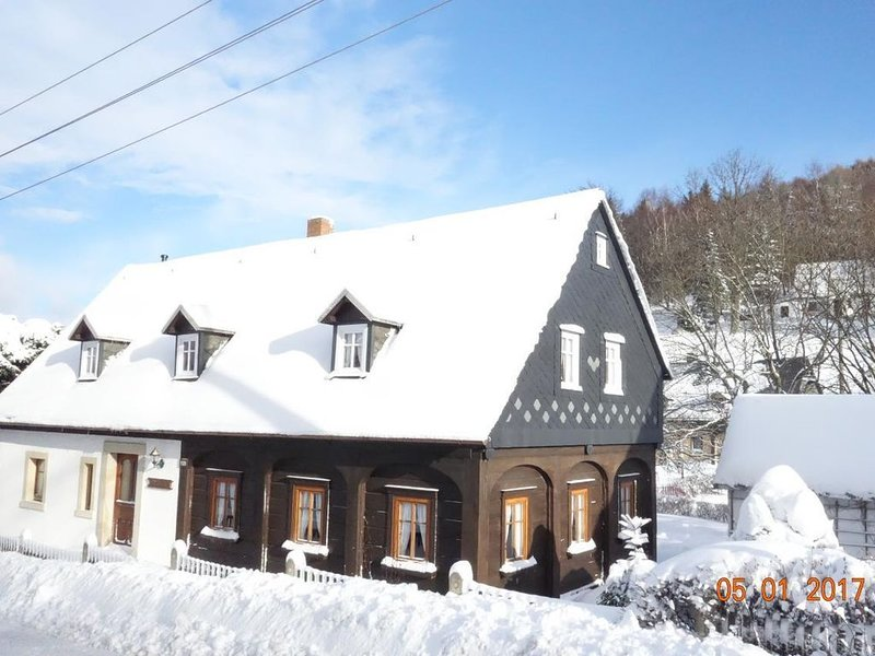 Rental Waltersdorf for 6 people with 3 bedrooms - House, holiday rental in Marenice