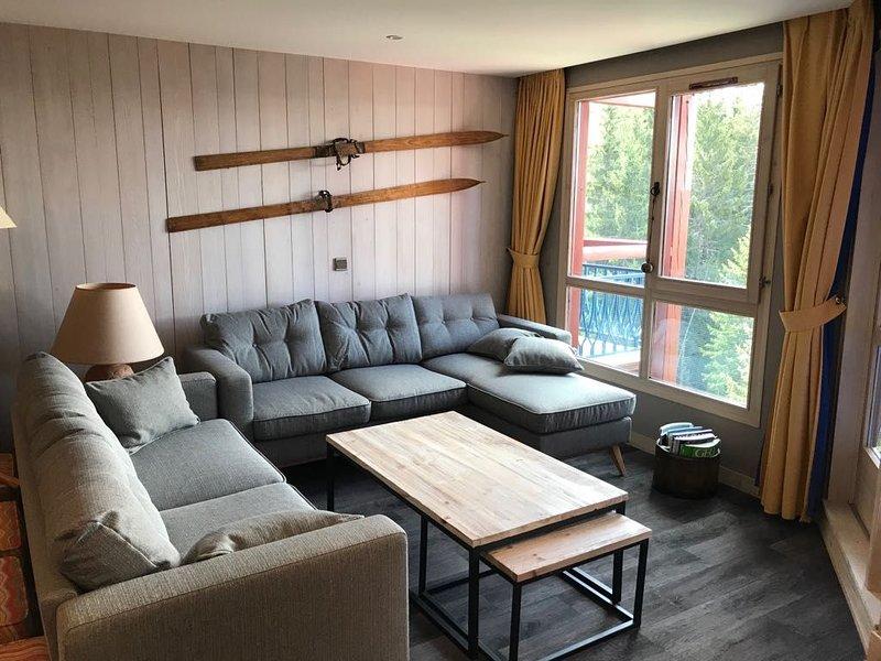 Les Arcs 1800 : superbe appartement rénové de 100 m², holiday rental in Les Arcs