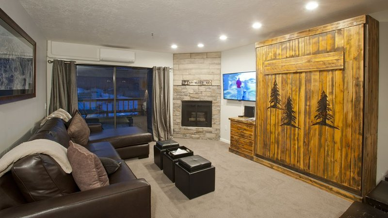 LFT23 by Park City Experience - 1BR Ski-In/Ski-out at Park City Mountain – semesterbostad i Park City