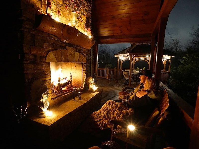 375 Ft. Of Toccoa River Frontage -  Toccoa River Lodge, alquiler de vacaciones en Mineral Bluff