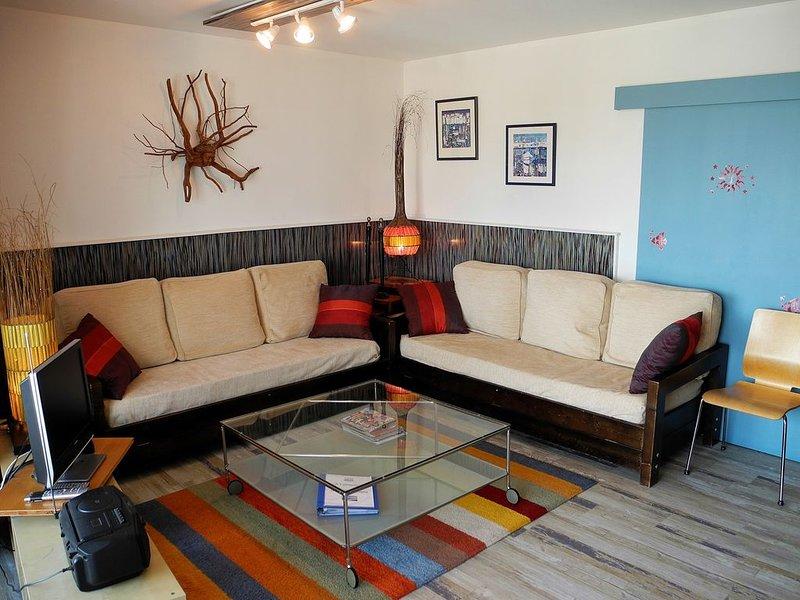 Appartement lumineux 45m² vue mer, loggia. Hygiène et sécurité respectées ., alquiler de vacaciones en Banyuls-sur-mer