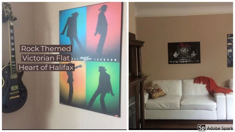 Rock n Roll Themed Victorian Flat #2 * Hfx commons, vacation rental in Fall River