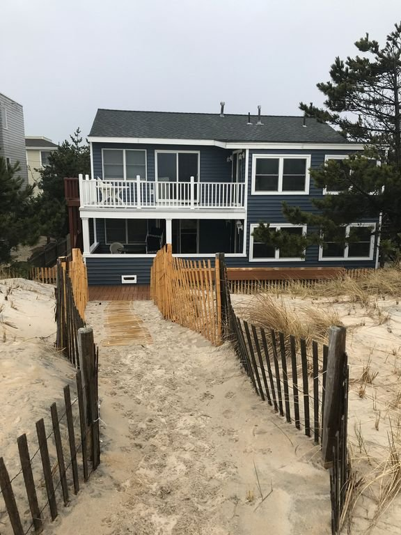 All new oceanfront with private beach access!
