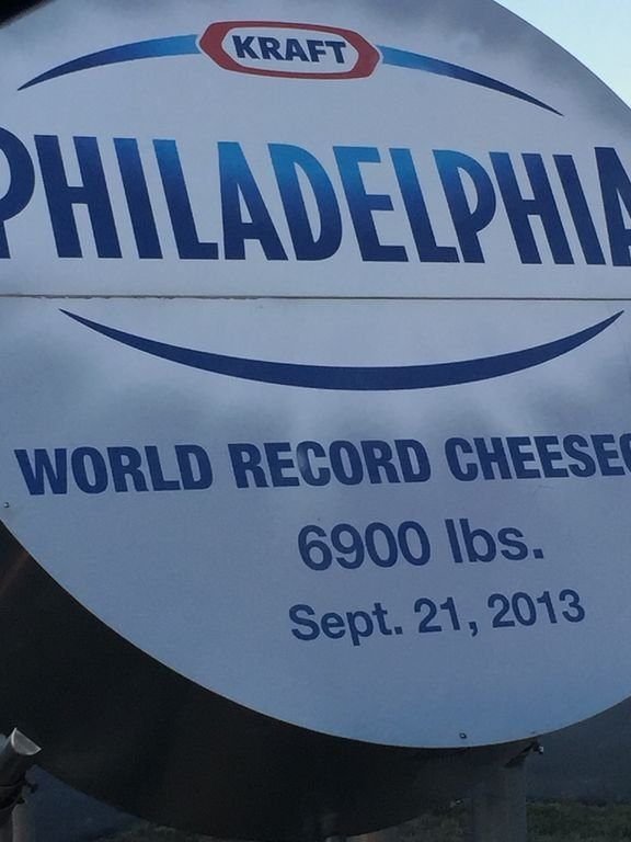Festival Anual de Cheesecake patrocinado por Kraft