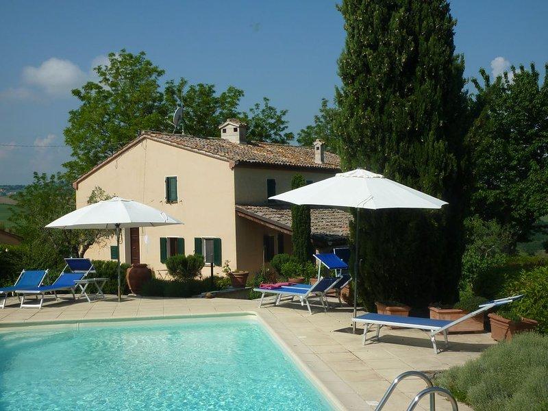 Casa il Tulipano TARIEF IS NU  INCL . 20 %korting. Bekijk de video, holiday rental in Mondavio
