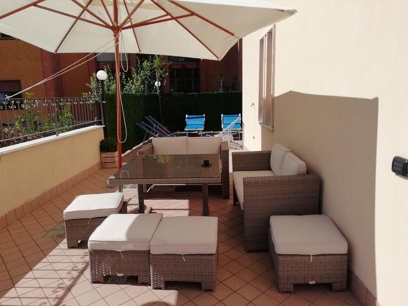 casa vacanze La Rosa Rossa al centro di pimonte, vakantiewoning in Gragnano