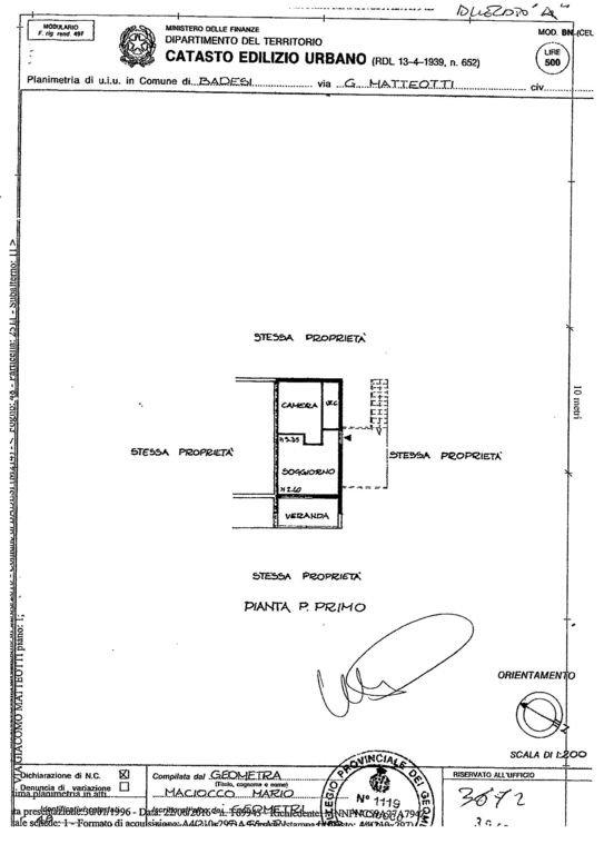 appartement plan