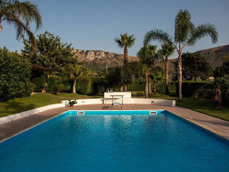 Rilassarsi a Villa Maria, holiday rental in Terrasini