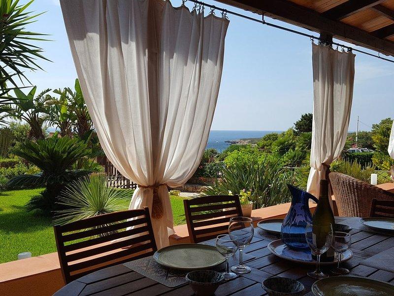 Lisca Blu villa 6+2 pp -  A  piedi al mare, A/C - Wifi bici parking free 2 bagni, location de vacances à Custonaci