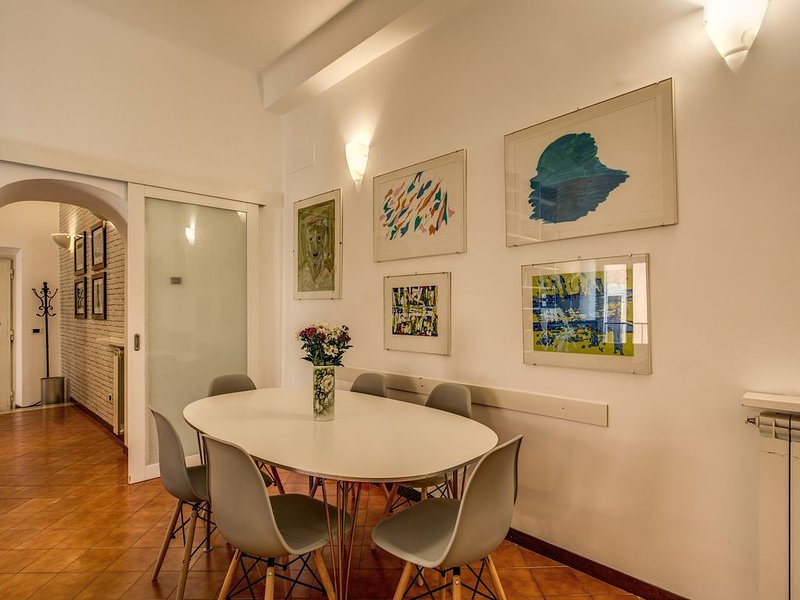 Your 3 Bdr Piazza Navona Apartment AC/WIFI, Ferienwohnung in Vatikanstadt