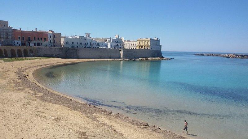 Accogliente appartamento panoramico, vacation rental in Gallipoli