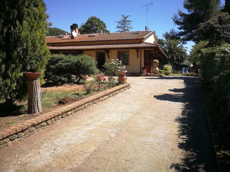 Access from private driveway with automatic gate - Holiday Home - BEGGI