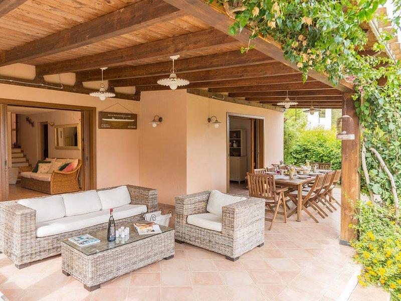 Confortevole villa con vista mare, casa vacanza a Domus de Maria