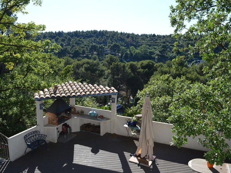 Quiet 'provençale' villa - Villa provençale au calme., holiday rental in Pelissanne