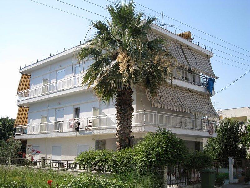 familiär geführtes Ferienhaus, 400m zum Strand - 2 Zimmer Apartment Nr. 3, holiday rental in Kitros