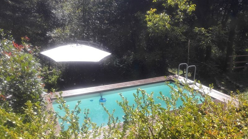 Schnukeliges Ferienhaus mit privatem Pool in der Natur, vacation rental in Camaiore