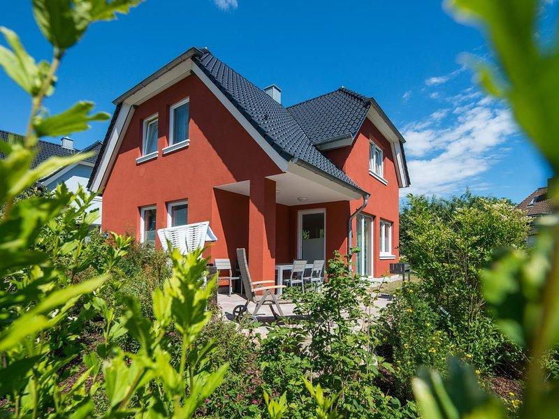 Lotta - Familienferienhaus, WLAN frei, Sauna, Kamin, 8 Personen – semesterbostad i Puttgarden