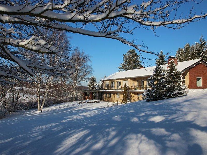 Villa Schönau in winter