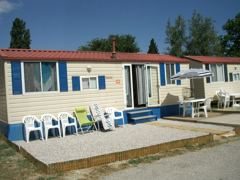 Mobilhome à louer à Sigean, holiday rental in Peyriac-de-Mer