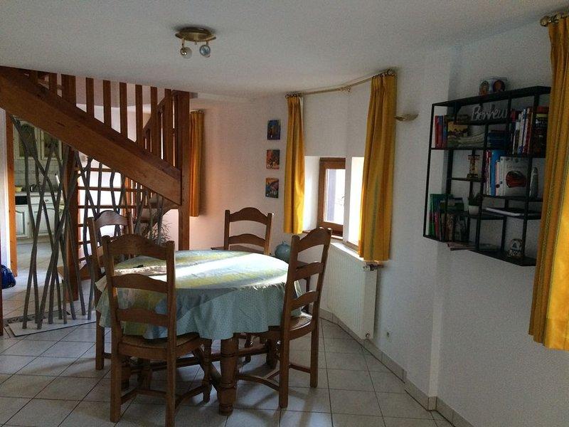 Duplex 60m2, au coeur d'Eguisheim, aluguéis de temporada em Pfaffenheim