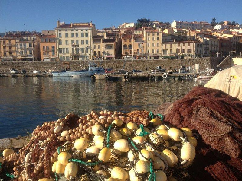 Port-Vendres es un pequeño puerto pesquero pintoresco.
