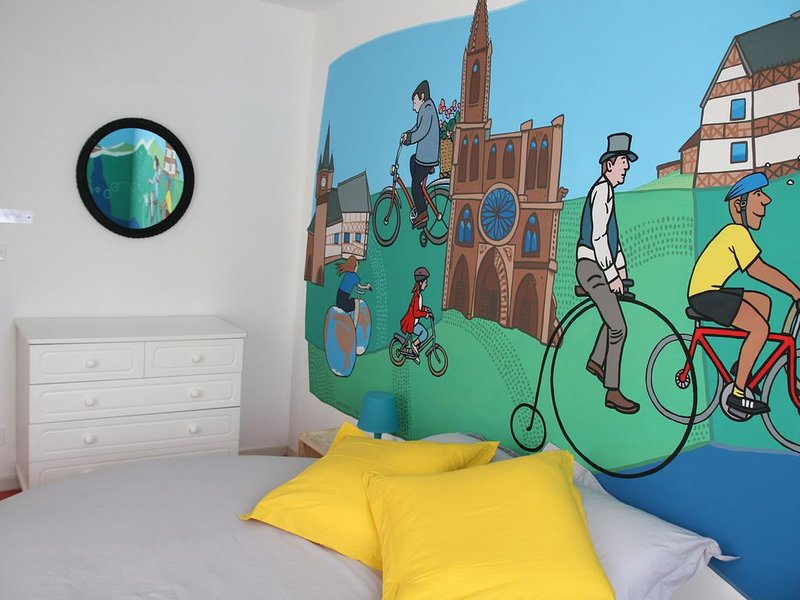 Trathala-Bicyclette - 2 pièces centre gare, vacation rental in Lingolsheim