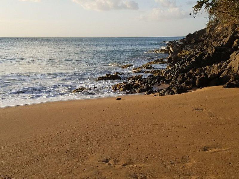 Playa de La Perle en Deshaies