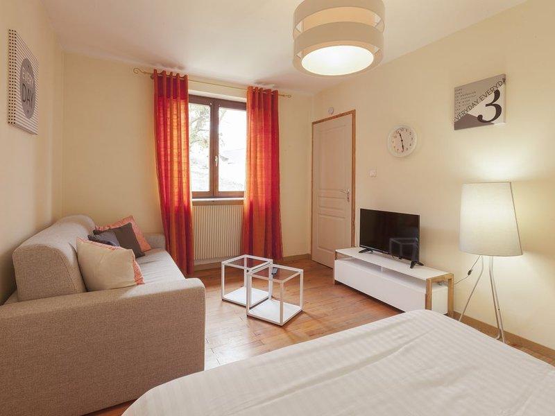 Nid douillet JUSTINE bien situé/tout le confort appréciable pour un break au top, holiday rental in Trois-Epis