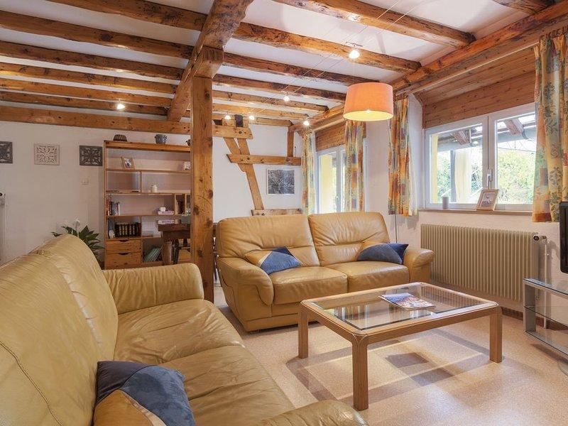 Gîte'Agnès' dans un cadre verdoyant au calme, terrasse, 2sdb 2wc, 6 km de Colmar, holiday rental in Trois-Epis