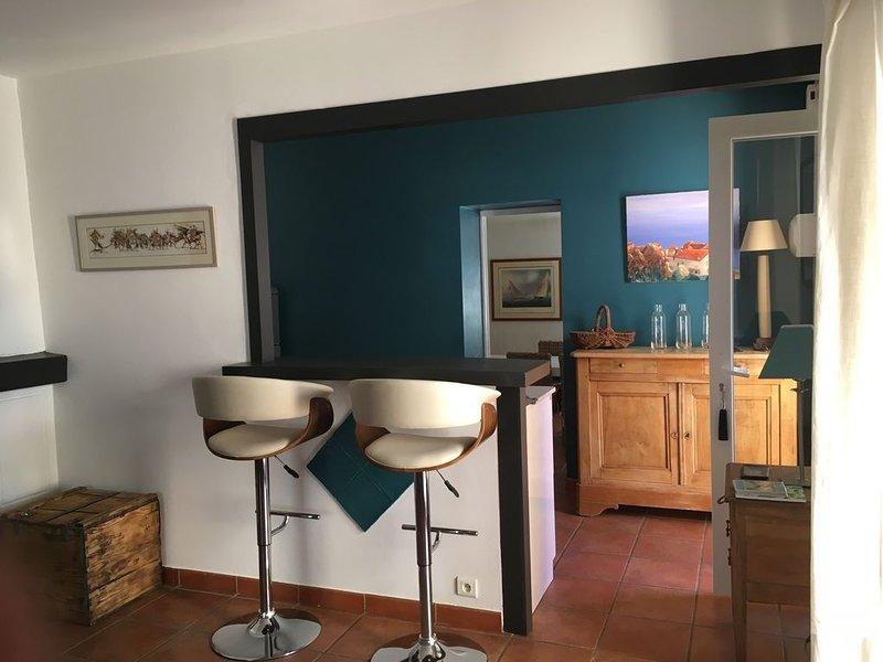 Aux portes de Toulouse maison de charme avec piscine au cœur du village, casa vacanza a Paulhac