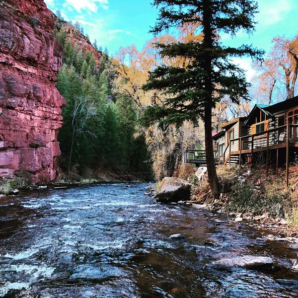 ❤️of the Frying Pan River I Enjoy your morning coffee with a view, vacation rental in Basalt