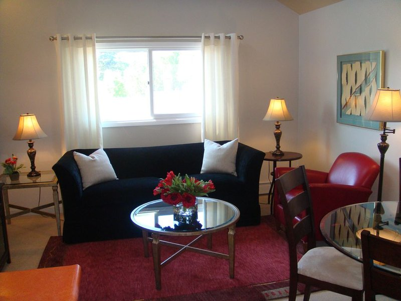 Anchorage Downtown Deluxe Furnished One Bedroom Apartment, holiday rental in Eagle River