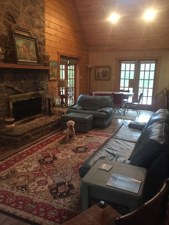 View of Living Room from Front Entry