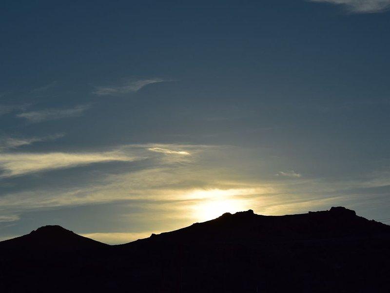 Morgen Sonnenaufgang über dem Berg Charleston