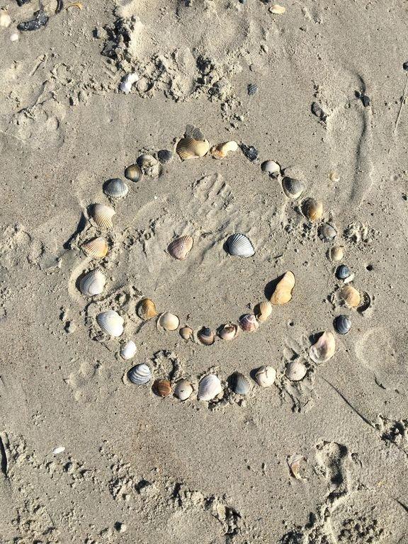 Sourire! Tu es à la plage !!