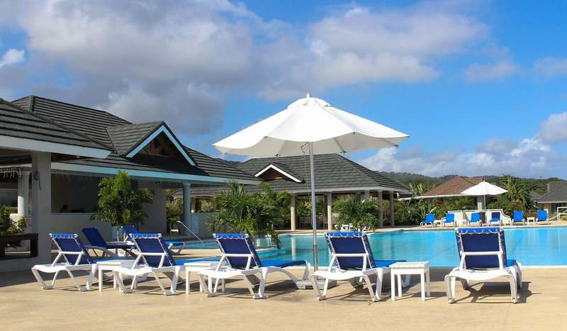 Lounge or sun bathe by the pool
