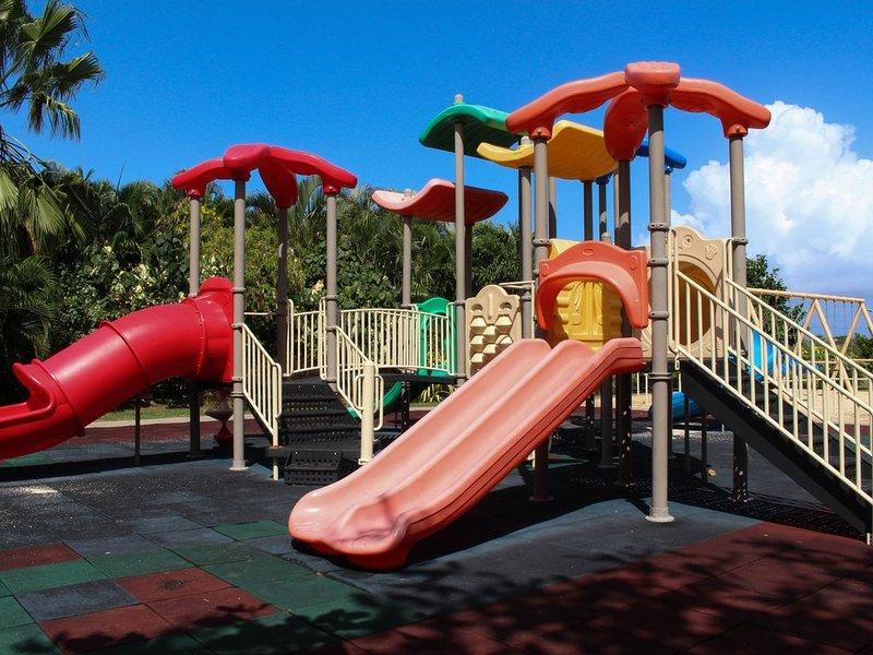 Kids park and play ground just walking distance from the Villa